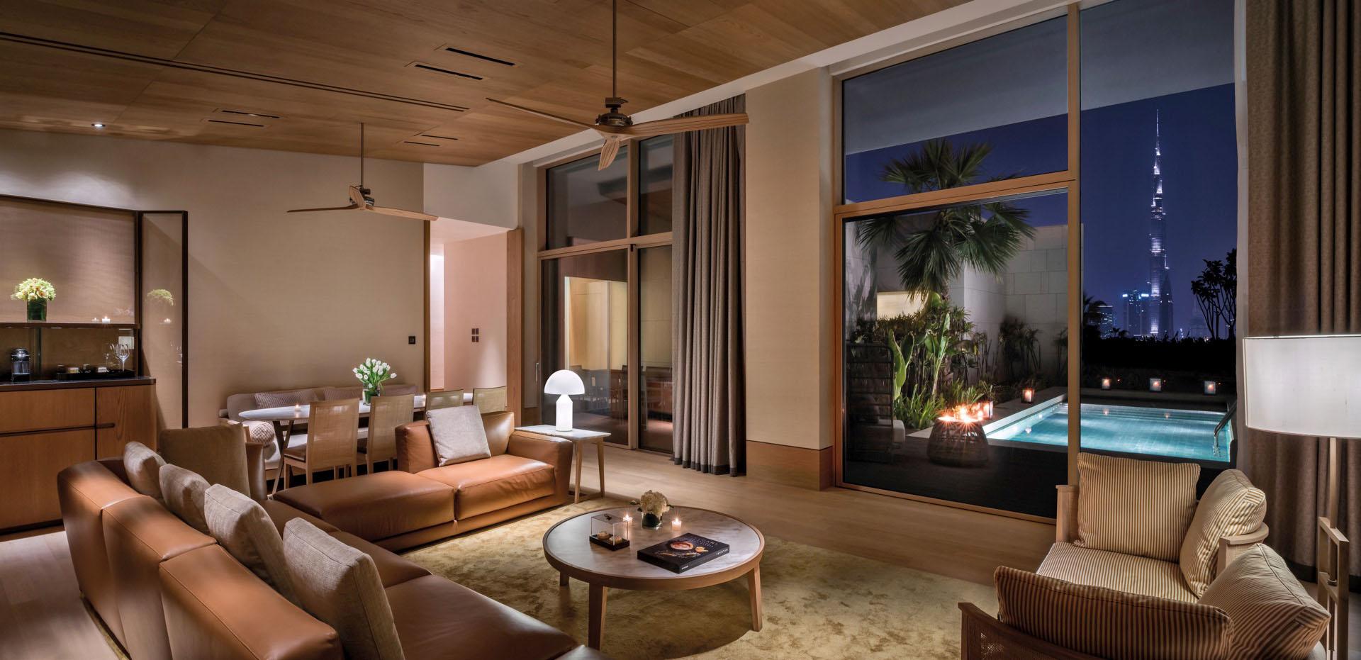 Bvlgari Resort Dubai - Skyline Villa